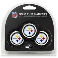 NFL Pittsburgh Steelers Golf Chip Ball Markers (Set of 3)