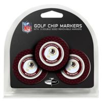 NFL Washington Redskins Golf Chip Ball Markers (Set of 3)