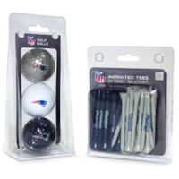 NFL New England Patriots Golf Ball and Tee Pack
