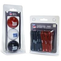 NFL New York Giants Golf Ball and Tee Pack