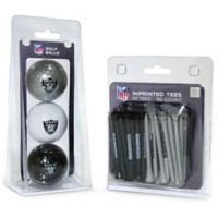 NFL Oakland Raiders Golf Ball and Tee Pack