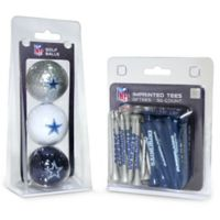NFL Dallas Cowboys Golf Ball and Tee Pack