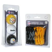 NFL Pittsburgh Steelers Golf Ball and Tee Pack