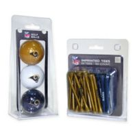 NFL Los Angeles Rams Golf Ball and Tee Pack