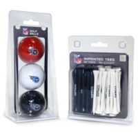 NFL Tennessee Titans Golf Ball and Tee Pack