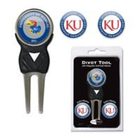 University of Kansas Divot Tool with Markers Pack