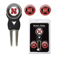 University of Nebraska Divot Tool with Markers Pack