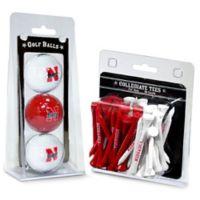 University of Nebraska Golf Ball and Tee Pack