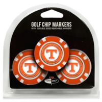 NCAA University of Tennessee Golf Chip Ball Markers (Set of 3)