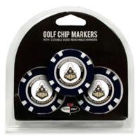 NCAA Purdue University Golf Chip Ball Markers (Set of 3)