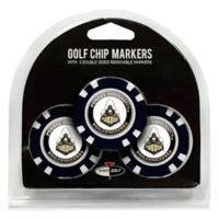 NCAA Purdue University Golf Chip Ball Markers (Set of 3)
