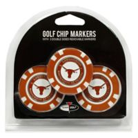 NCAA University of Texas Golf Chip Ball Markers (Set of 3)