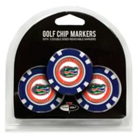 NCAA University of Florida Golf Chip Ball Markers (Set of 3)