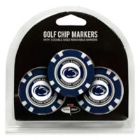 NCAA Penn State University Golf Chip Ball Markers (Set of 3)