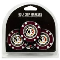 NCAA Florida State University Golf Chip Ball Markers (Set of 3)