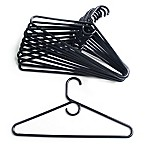 Merrick 72-Count Value Pack Heavyweight Hangers in Black