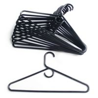 Merrick 72-Count Value Pack Heavyweight Hangers in Blue