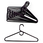 Merrick 72-Count Value Pack Heavyweight Hangers in Dark Purple