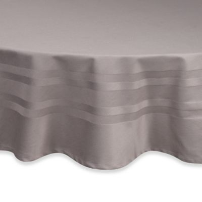 Marvelous Wamsutta® Classic 70 Inch Round Tablecloth In Grey