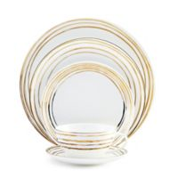Mikasa® Swirl 5-Piece Place Setting in Gold