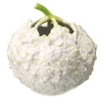 Royal Copenhagen The Art of Giving Flowers 4-Inch Hydrangea Vase in White