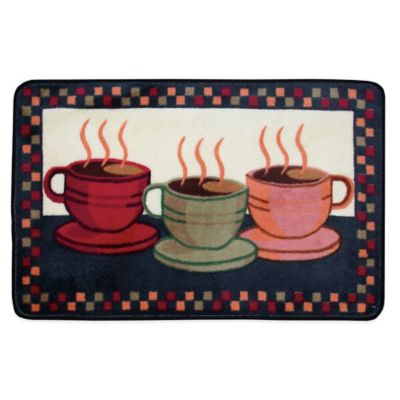 Nourison 3 Foot 4 Inch X 1 Foot 10 Inch Coffee Kitchen