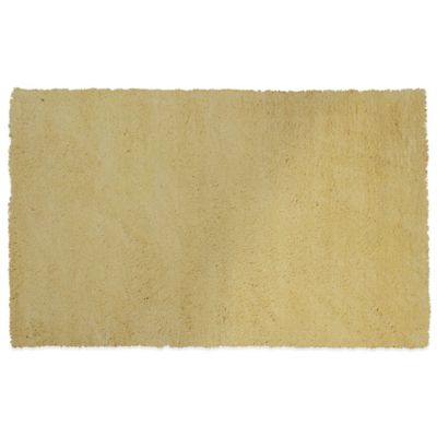 kas bliss 5foot x 7foot area rug in canary yellow