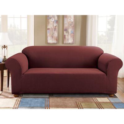Merveilleux Sure Fit® Simple Stretch Subway Tile 1 Piece Sofa Slipcover