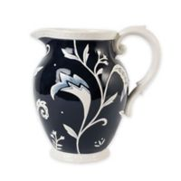 Fitz and Floyd® Bristol Indigo Floral Pitcher
