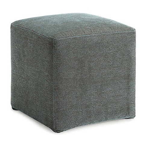 Dwell Home 16 5 Inch Axis Cube Ottoman Bed Bath Amp Beyond