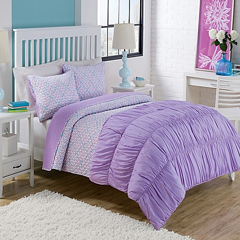 info housesalem twin bed purple quilt
