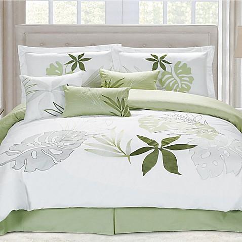 Panama Jack Lagoon Comforter Set In White Bed Bath Amp Beyond