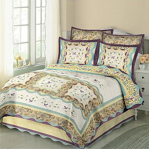 Hummingbird Quilt Set Bed Bath Amp Beyond