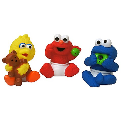 Sesame Street 174 3 Pack Multicolor Squirters Buybuy Baby