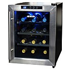 NewAir® Stainless Steel 12-Bottle Single-Zone Wine Cooler