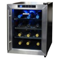 NewAir 12-Bottle Single-Zone Thermoelectric Wine Cooler in Stainless Steel