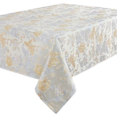 Waterford® Linens Eva 90 Inch Round Tablecloth