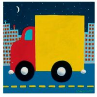 Oopsy Daisy Night Delivery Canvas Wall Art