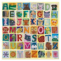 Oopsy Daisy Animal Alphabet Canvas Wall Art