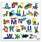 Oopsy Daisy Too The World of Eric Carle Boys A-Z Canvas Wall Art