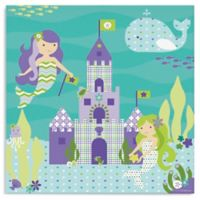 Oopsy Daisy Too Ocean Mermaids Canvas Wall Art