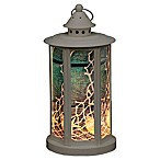 Decorative LED Lantern in Grey