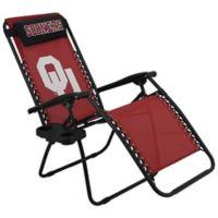 University of Oklahoma Zero Gravity Chair
