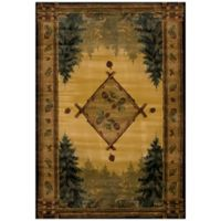 United Weavers Forest Trail Lodge 3-Foot 11-Inch x 5-Foot 3-Inch Area Rug