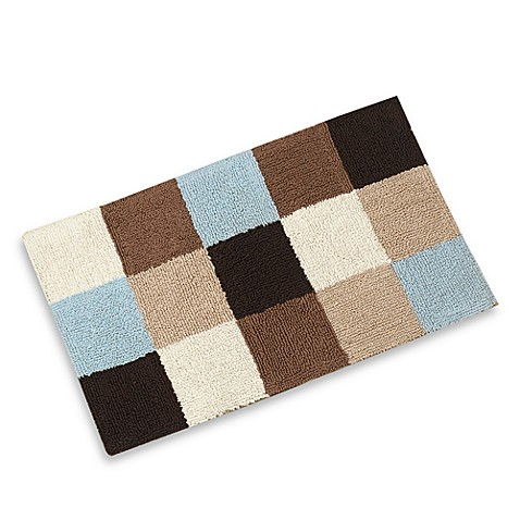 Geo Spa Patchwork Bath Rug Bed Bath Beyond
