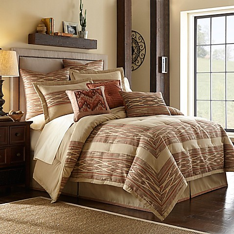 Desert Ridge Comforter Set In Terracotta Bed Bath Amp Beyond