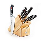Wusthof® Classic 8-Piece Deluxe Wood Knife Block Set
