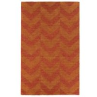 Kaleen Imprints Modern 2-Foot x 3-Foot Rug in Red