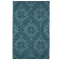 Kaleen Imprints Classic 2-Foot x 3-Foot Rug in Turquoise