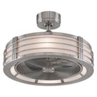 Fanimation Beckwith™ 23-Inch Ceiling Fan in Nickel/Aluminum